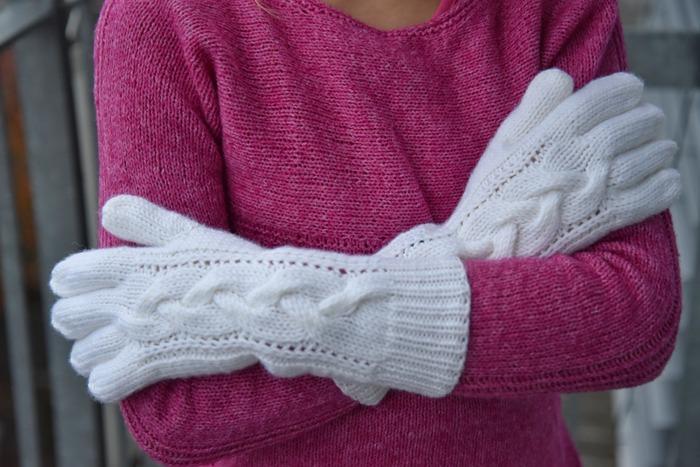 Фото. Перчатки. Автор работы - Leonetta