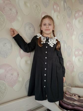 Фото. Школьное платье. Автор работы - AYouchka