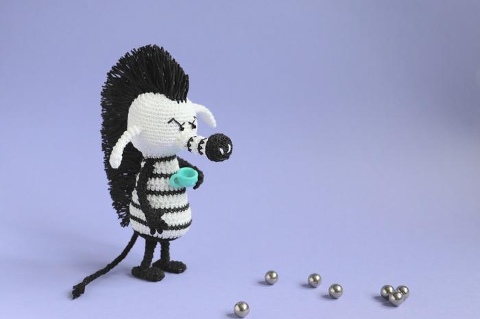 """Фото. Зебра - персонаж из комиксов """"Pearls before swine"""" Стефана Пастиса.. Автор работы - Олисава"""