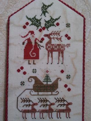 "Фото. ""Merry One & Merry Two"" от Plum Street Samplers. Автор работы - Luffa"