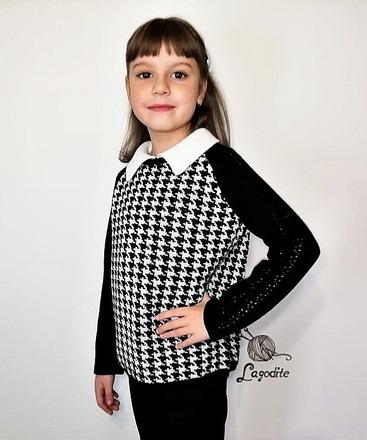 Фото. Джемпер для юной школьницы. Автор работы - sannycs