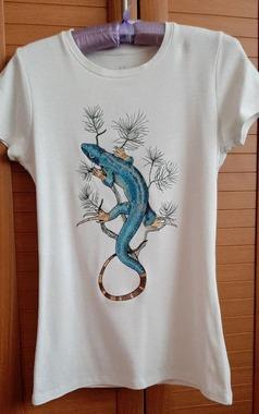 Фото. Вышивка на футболке. Автор работы - wersik