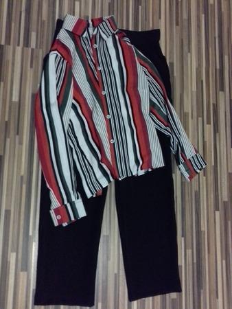 Фото. Блузка и брюки.   Автор работы - nnida
