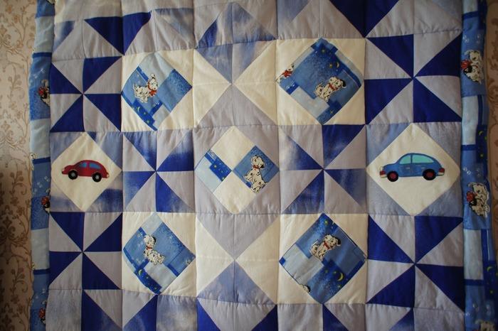 Фото. Детское одеяльце.  Автор работы - galina6950