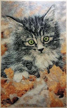 Фото. Осенний котенок. Автор работы - Mazzy