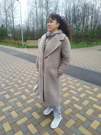 Фото. Зимнее пальто.   Автор работы - Хохлома