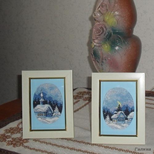 Фото. Маленькие работы на зимнюю тему.  Автор работы - Galina0608