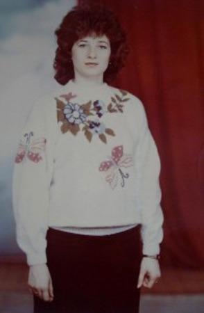 Фото. К счастью, сохранились фото моих жаккардов из тех далеких 1980-х.