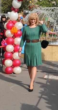 Фото. Конкурсные работы: в платье от Оскар де ла рента я заняла второе место.