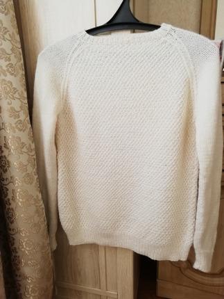 Фото. Просто пуловер для дочери.  Автор работы - PolinaM