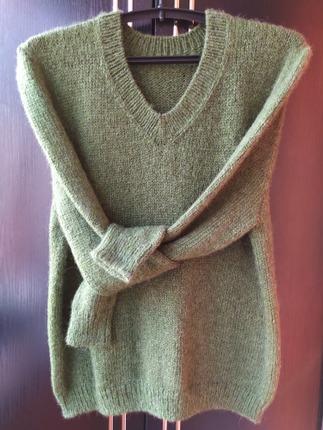 Фото. Мужской пуловер. Автор работы - dorjo
