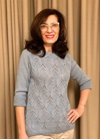 Фото. Пуловер Poet от Sari Nordlund для дочки. Автор работы - Краля