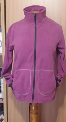 Фото. Наконец-то хоть что-то сшила для себя..... 😳 Простенькая флиска под куртку.