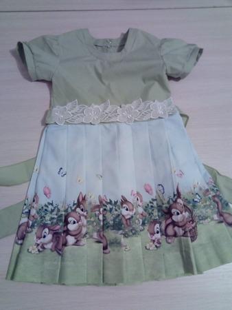 Фото. Платье для внучки.  Автор работы - Vors