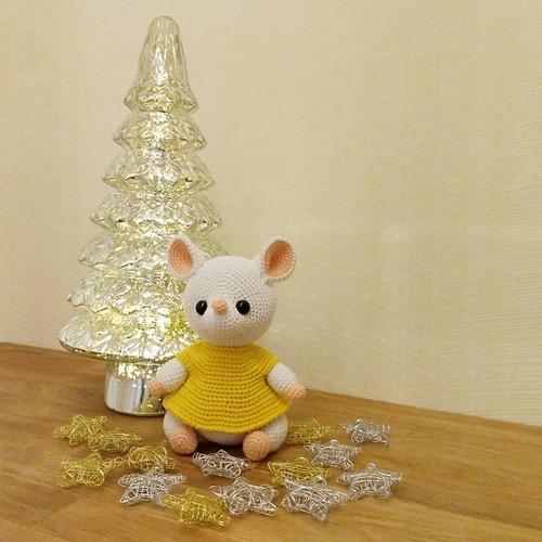 Фото. Мышка по описанию Анны Садовской. Автор работы - berlinka