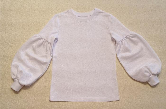 Фото. Школьная блузка.  Автор работы - Марина З.