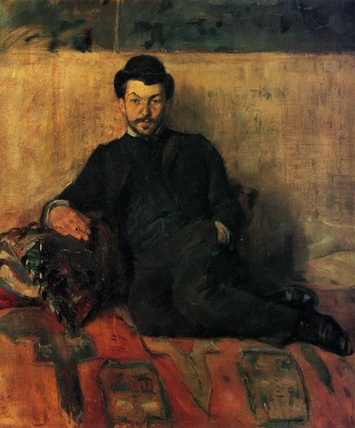 "Фото. Анри де Тулуз-Лотрек (Henri de Toulouse-Lautrec ) ""Гюстав Люсьен Деннери"", 1883"