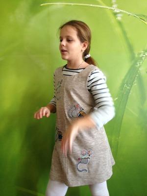 Фото. Сарафан для девочки. Автор работы - octrov_natali