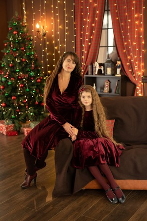 Фото. Мама и дочка. Автор работы - Tolstik1