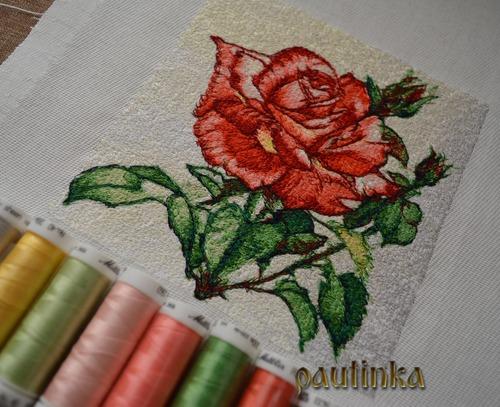 Фото. Машинная вышивка. Автор работы - pautinka1