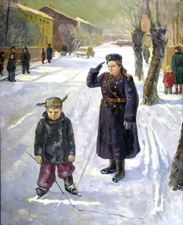 "Фото. Жарков Б. А. ""Так нельзя"", 1969 г."