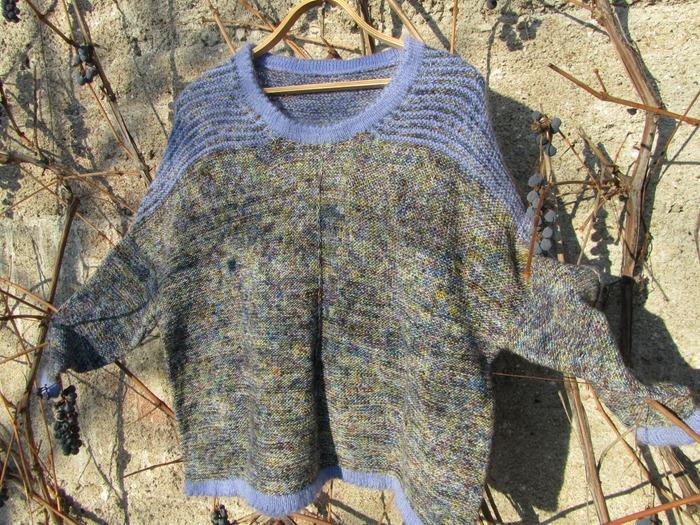 Фото. Пуловер Rusty Tuku pattern by Susanne Sommer.  Автор работы - schurotschka