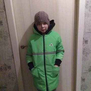 Фото. Зимняя куртяха сыну. Автор работы - oclok