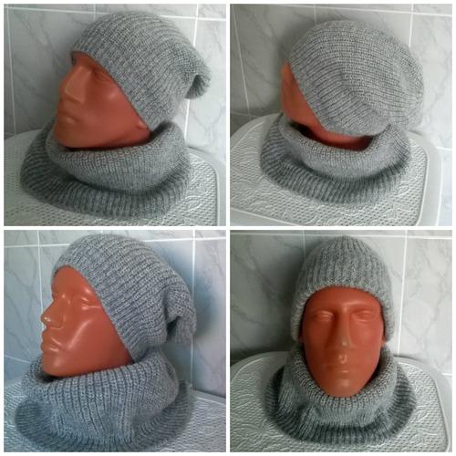 Фото. Комплект шапка +снуд.  Автор работы - Stavros2011