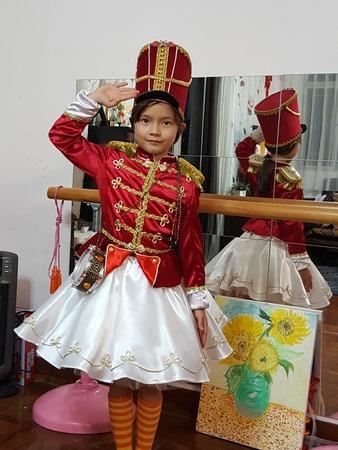 Фото. Наряд солдатика к рождеству. Автор работы - Elena Lo