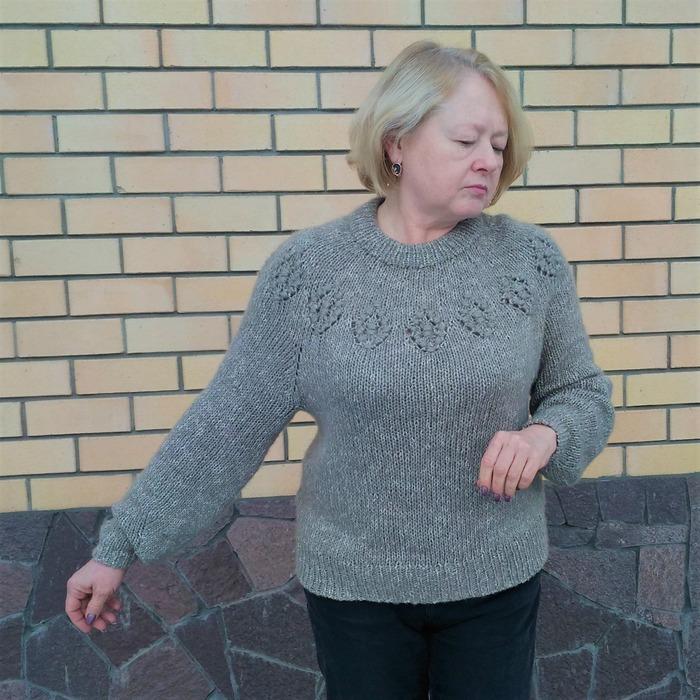 Фото. Macrame Motif Sweater by Midori Hirose.  Автор работы - vanady