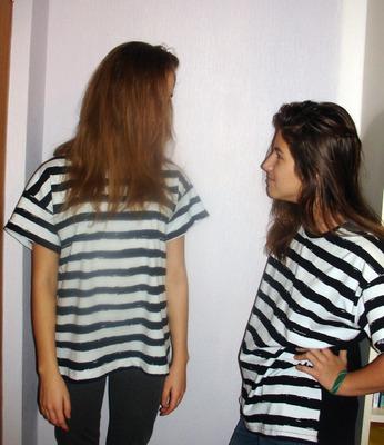 Фото. Полосатые футболки. Автор работы - Radostnaya