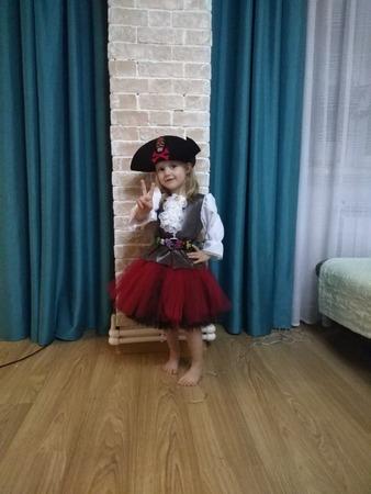 Фото. Костюм Пиратки для дочери. Автор работы - MamaVovki