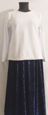 Фото. Водолазка и юбка из велюра. Автор работы - Elena51