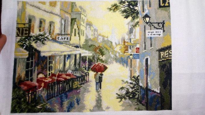"Фото. ""Париж после дождя""  Автор работы - Витейка"