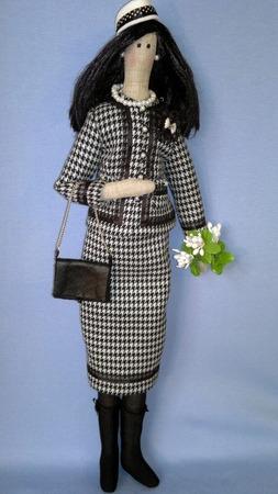 Фото. Первые куклы, сшитые на заказ: Тильда...