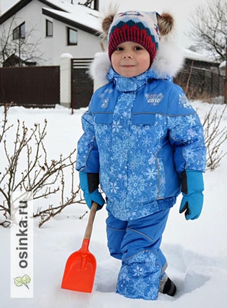 """Фото. Комплект """"Вьюга синяя зима"""". Мастер-класс по пошиву куртки из этого комплекта очень популярен."""