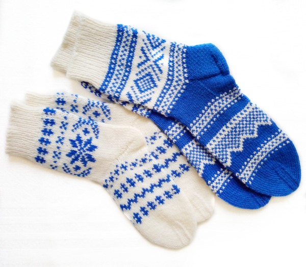 Фото. Носочки на заказ. Автор работы - kOtek