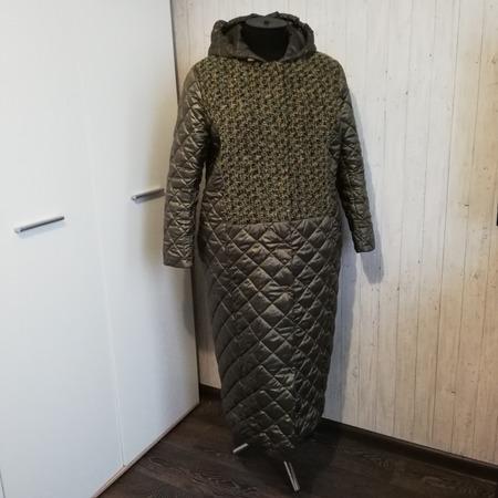 Фото. Зимний комплект: пальто и жилет. Автор работы - Наталья-я