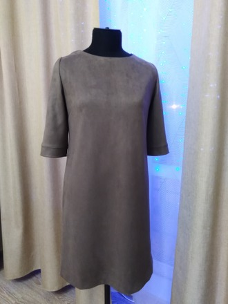 Фото. Платье из замши.  Автор работы - Artliz