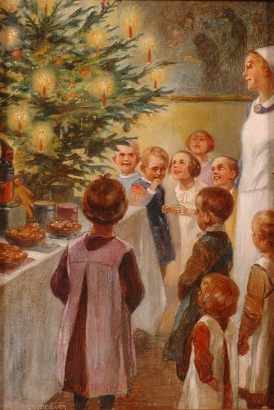 "Фото. ""Рождество"" Hans Stubenrauch (1875-1941) 1900 г."