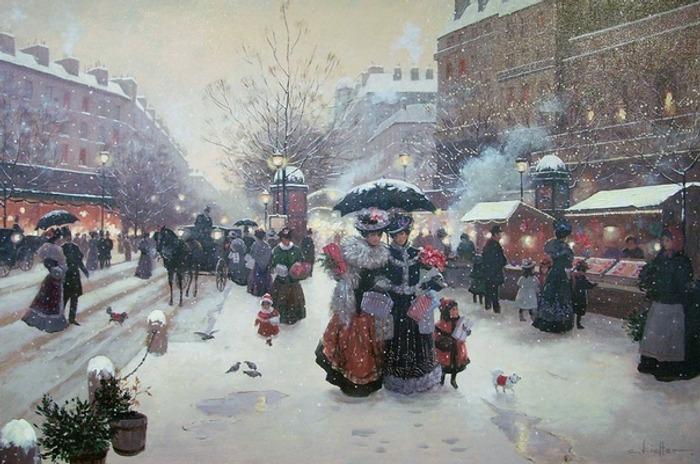 """Фото. """"Зима в Париже"""", Криста Киффер (Christa Kieffer)"""