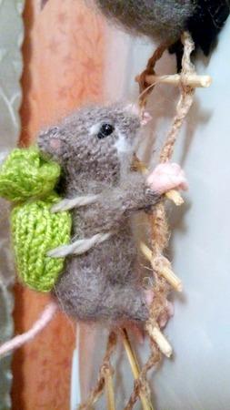 Фото. За основу взято описание мышек Алана Дарта. Автор работы - Веснат