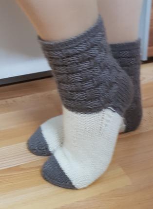 Фото. Что-то потянуло меня на толстенькие носочки!