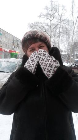 """Фото. Варежки """"Будет зима!"""".  Автор работы - Nadyne"""