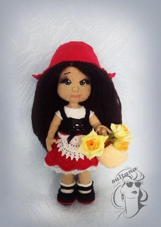 Фото. Красная Шапочка по описанию Леночки Ecem. Автор работы - sultana