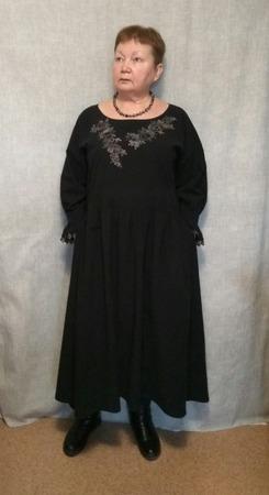 Фото. Бохо-платье с вышивкой.  Автор работы - ВерНик