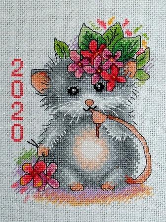Фото. Мышиный Новый год. Автор работы - Nagaina