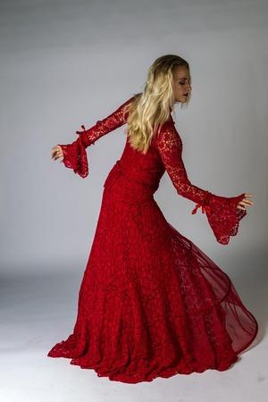 Фото. Вязаное платье. Автор работы - barbara_1