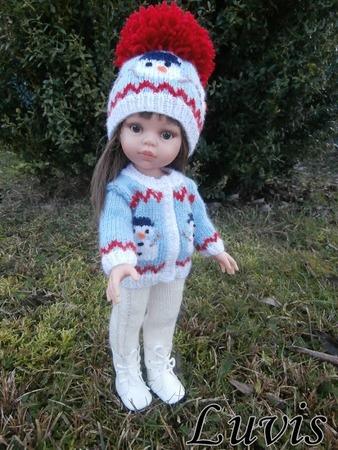 Фото. Вяжем для кукол. Автор работы - Luvis