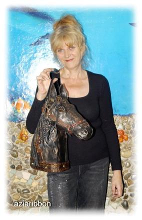"""Фото. Новая кожаная сумка """"Конь"""". Автор работы - Aziaribbon"""